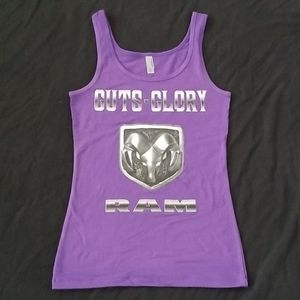 4/$10 Dodge RAM Tank Top Guts and Glory